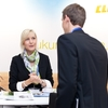 Messestand der Firma CLAAS