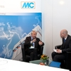 Messestand der Firma MC-Bauchemie
