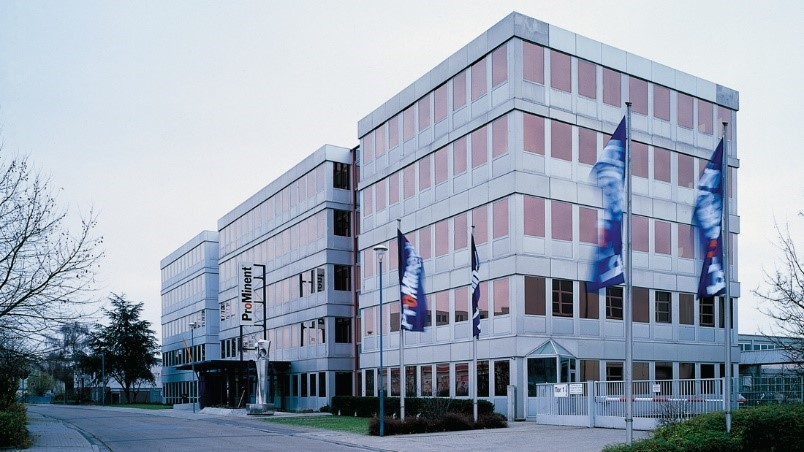 Firmensitz der ProMinent GmbH in Heidelberg